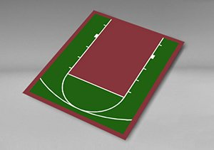 Versacourt Easy To Install Diy Basketball Court Kits