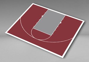 Versacourt do it yourself basketball court kits for Diy sport court