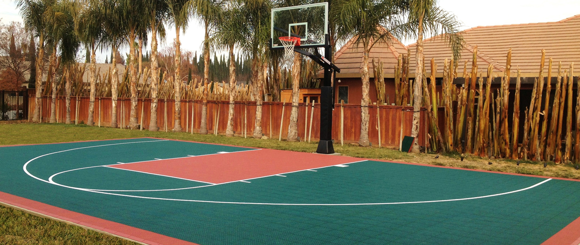 Versacourt Half Court Basketball Court Kits