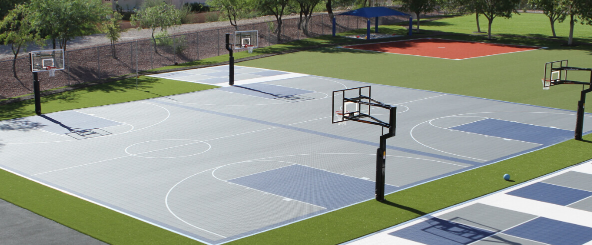 Versacourt Commercial Indoor Outdoor Backyard Basketball Courts