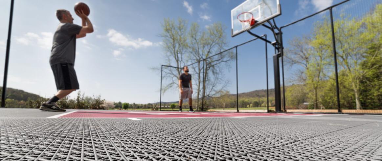 A Backyard Basketball Court Cost