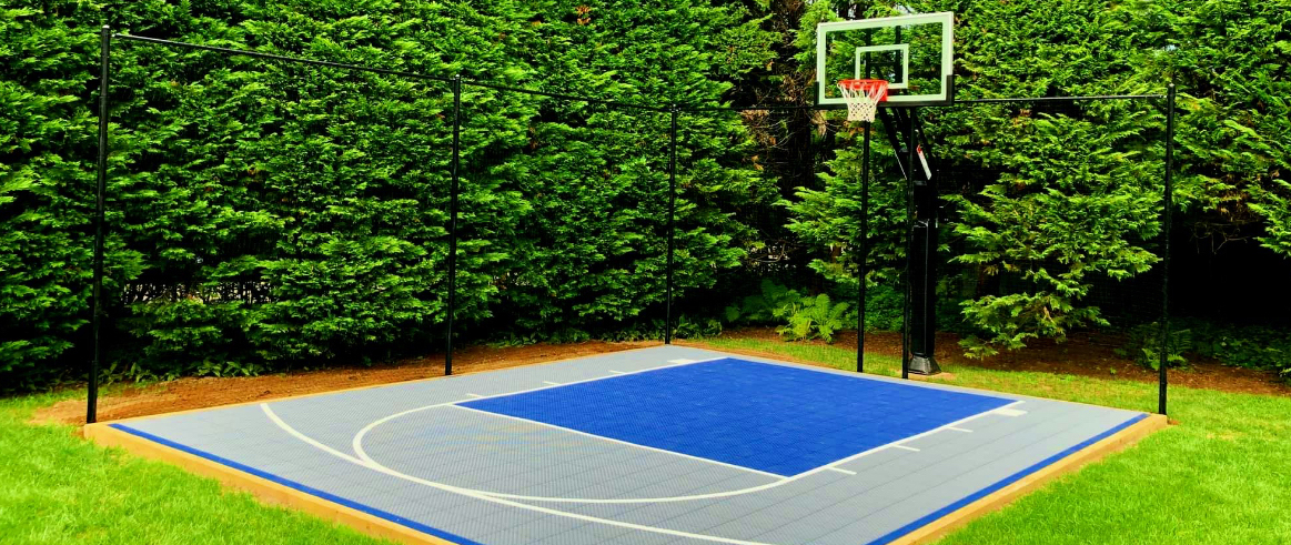Easy To Install Diy Basketball Court Kits, Best Paint For Outdoor Basketball Court Lines