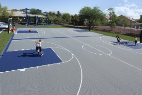 basketball court application