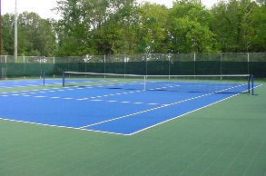 tennis court application