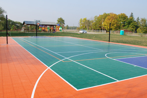 multi-sport court application