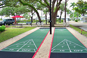 shuffleboard court application