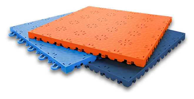 stacked Skate tiles in various colors