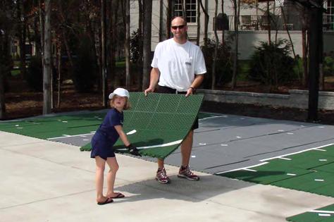 Backyard Basketball Court Cost