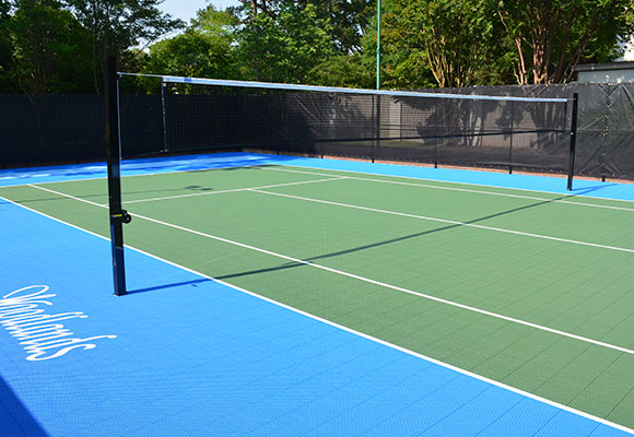 Delicieux Outdoor Volleyball Courts