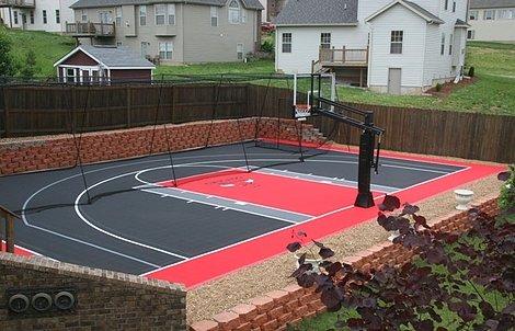 Basketball Court Gallery. View Full Gallery - VersaCourt Indoor, Outdoor & Backyard Basketball Courts