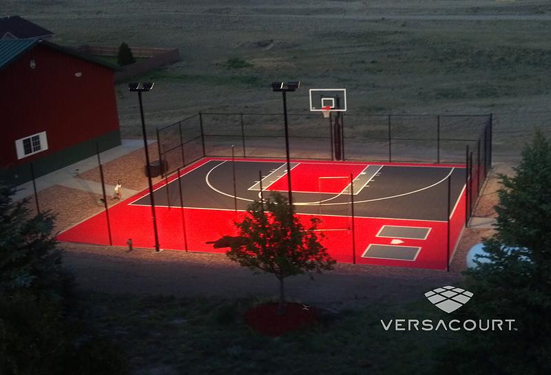 Versacourt Home Amp Backyard Basketball Court Photos