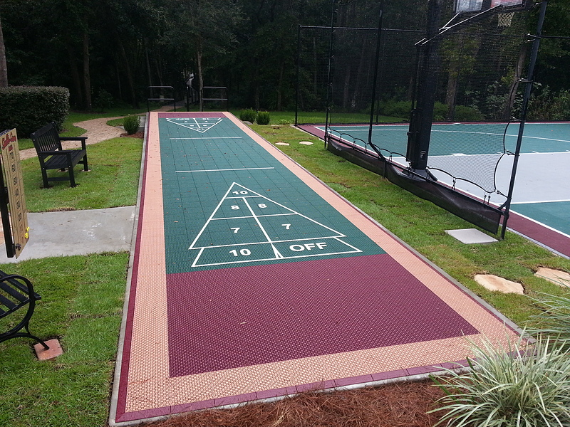 Bon Shuffleboard Court Gallery. View Full Gallery