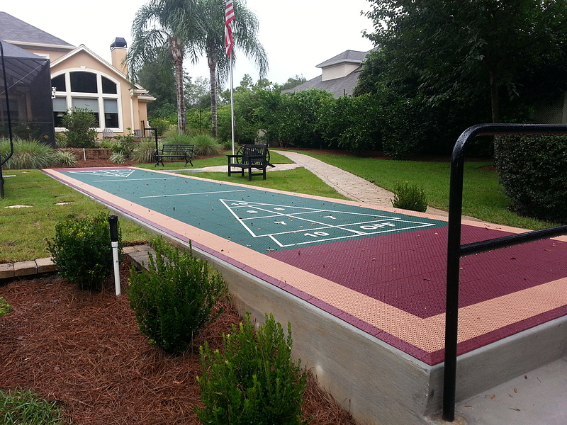 Delicieux Shuffleboard Court Gallery. View Full Gallery