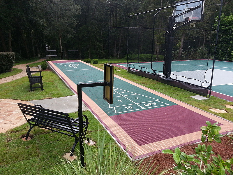 Exceptionnel Shuffleboard Court Gallery. View Full Gallery