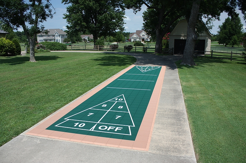 Superieur Shuffleboard Court Gallery. View Full Gallery