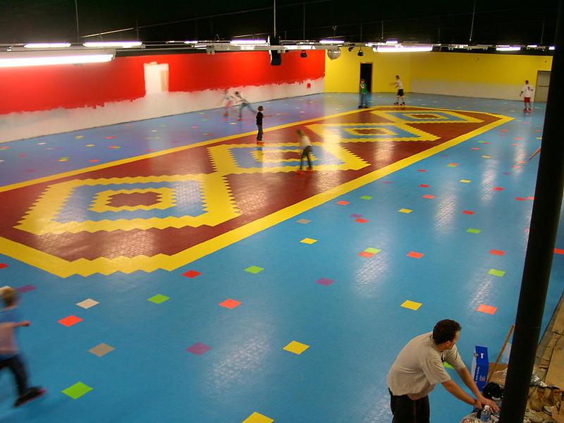 VersaCourt Skating Rink Flooring Surfacing - Skate court flooring