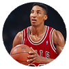 Scottie Pippen ready to make a shot